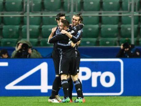 Bale bat vo le than sau ghi ban sieu toc - Anh 1