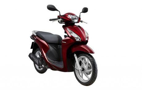 So sanh hai chiec xe tay ga Honda Vision va Yamaha Grande - Anh 1