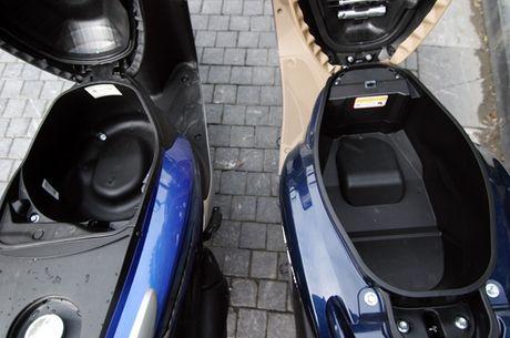 So sanh hai chiec xe tay ga Honda Vision va Yamaha Grande - Anh 3