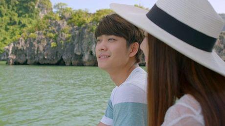 Nha Phuong, Kang Tae Oh au yem lang man tren Vinh Ha Long - Anh 2