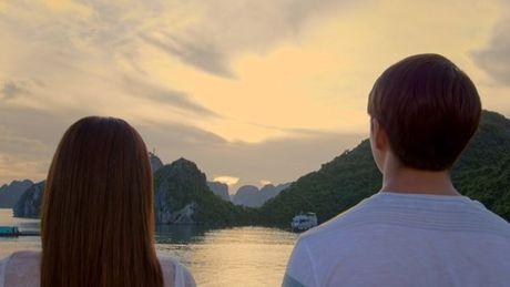 Nha Phuong, Kang Tae Oh au yem lang man tren Vinh Ha Long - Anh 3