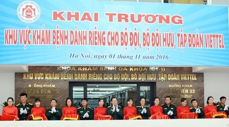 "Da co khu kham benh ""dac biet"" danh rieng cho Viettel? - Anh 1"