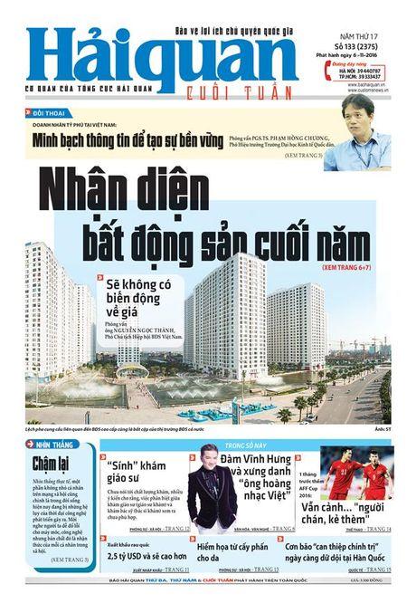 Nhung tin, bai hap dan tren Bao Hai quan so 133 phat hanh ngay 6-11-2016 - Anh 1