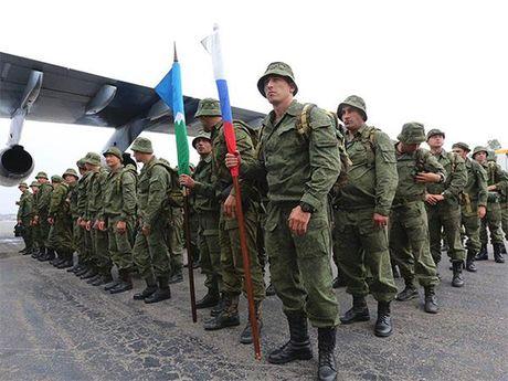 Doi pho NATO, Nga lap luc luong quan su chung voi Abkhazia - Anh 1