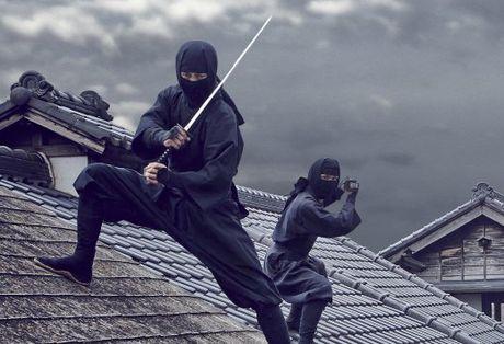 Ninja buoc ra tu phim Nhat Ban lan dau tien xuat hien tai Ha Noi - Anh 1
