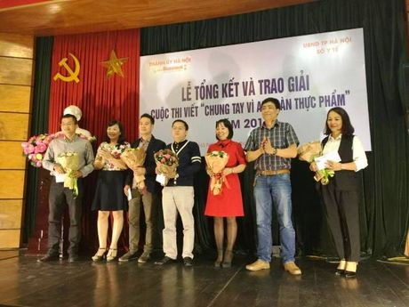 Cuoc thi viet 'Chung tay vi ATTP 2016' khong trao giai Nhat - Anh 1