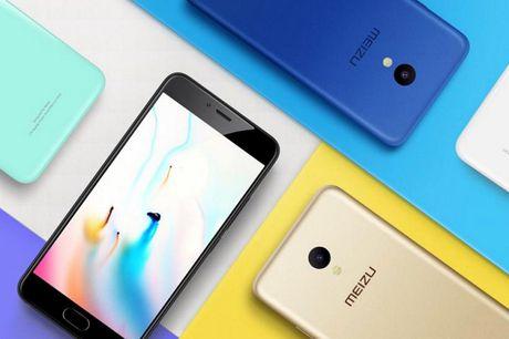 Meizu M5 ra mat: cam bien van tay, 3GB RAM, gia 103 USD - Anh 2