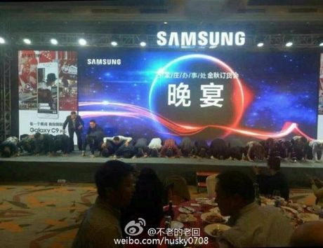 Nguoi dung Trung Quoc tuc gian vi cach xin loi cua lanh dao Samsung - Anh 1