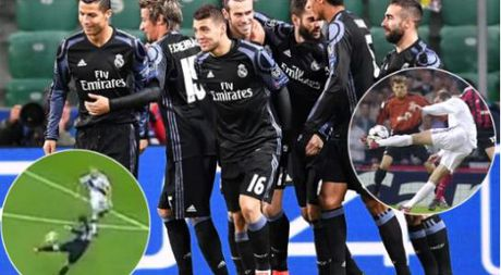 Tuyet dinh vo-le cua Gareth Bale rat giong ong thay Zidane - Anh 1