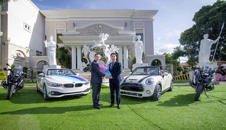 Century Pleiku dung xe MINI, BMW, Motorrad lam xe hoa - Anh 1