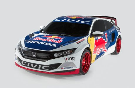 Hang loat bien the Honda Civic moi do bo SEMA Show 2016 - Anh 6