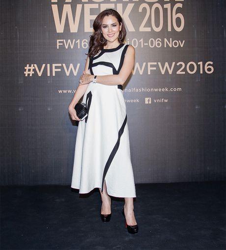 Hang loat hoa hau Viet do sac voi Hoa hau Hoan vu Singapore 2016 - Anh 3