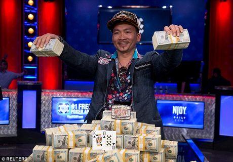 'Than bai' goc Viet thang 8 trieu USD tai giai poker the gioi - Anh 1