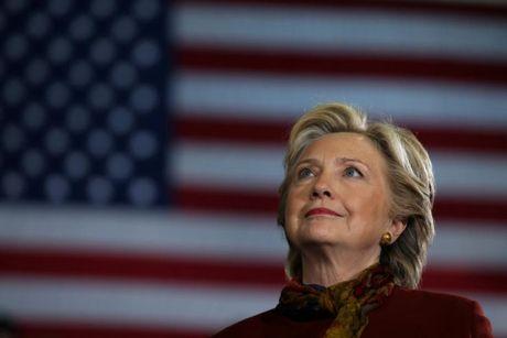 Bau cu My: Ba Clinton tai lap uu the, dan truoc Donald Trump 6 diem - Anh 1
