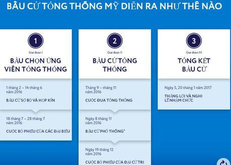 Qua trinh bau cu Tong thong My dien ra nhu the nao? - Anh 1