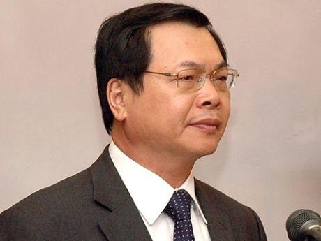 Ban Bi thu ky luat nguyen Bo truong Vu Huy Hoang - Anh 1