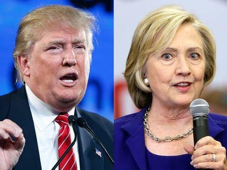 Gia vang choc thung moc 1.300 USD vi Clinton - Trump - Anh 1