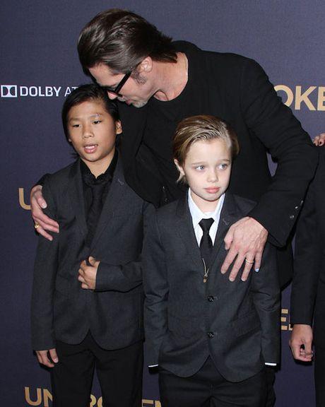 Brad Pitt suy sup khi Maddox noi: 'Ong khong phai la bo toi' - Anh 2