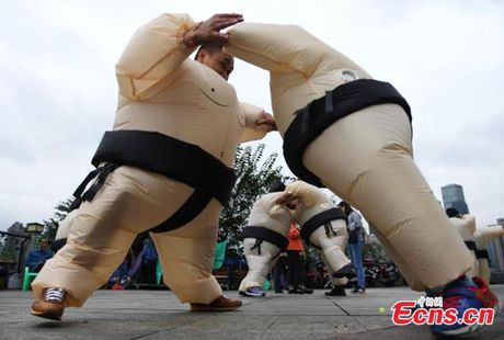 Cach xa stress khong giong ai o Trung Quoc - Anh 1