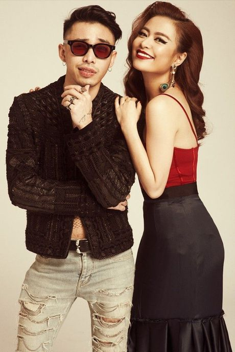 Nhung cap doi sao - stylist cung nhau 'di len' trong showbiz Viet - Anh 4