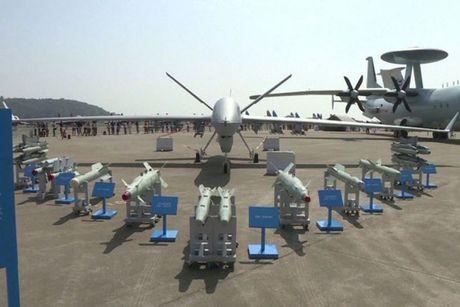 Trung Quoc ra mat chiec UAV 'so mot the gioi' - Anh 1