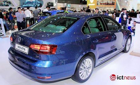 Volkswagen Jetta ve Viet Nam canh tranh truc tiep voi Toyota Altis, Honda Civic va Mazda3… - Anh 2