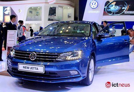 Volkswagen Jetta ve Viet Nam canh tranh truc tiep voi Toyota Altis, Honda Civic va Mazda3… - Anh 4