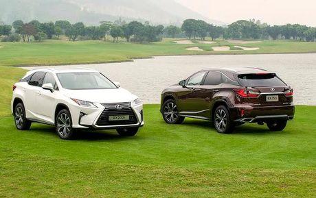 Lexus trieu hoi 2 dong xe an khach RX350 va RX200t tai Viet Nam do loi tui khi - Anh 1