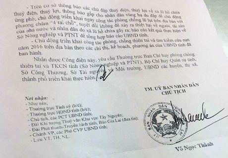 Chu tich tinh Gia Lai phan ung viec thuy dien xa lu - Anh 4