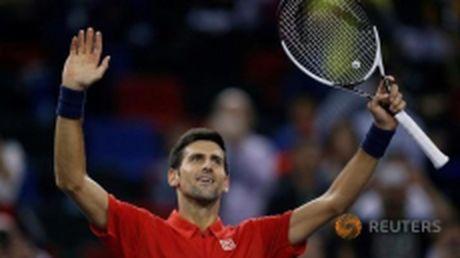 Paris Masters: Djokovic thang de, Murray chat vat, Wawrinka bi loai - Anh 1