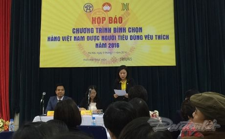 Binh chon 'Hang Viet Nam duoc nguoi tieu dung yeu thich' nam 2016 - Anh 1