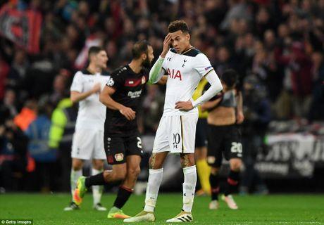 Doi cua Chicharito thang Tottenham o Champions League - Anh 3