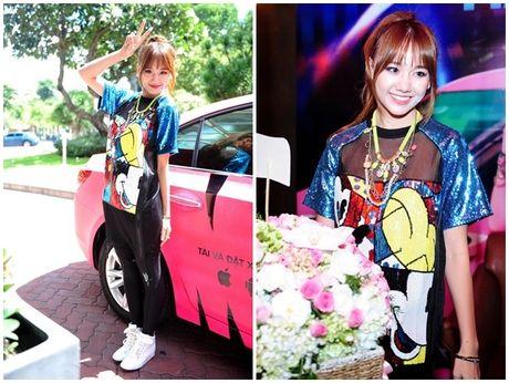 Ly do Hari Won thuong xuyen vao top mac xau - Anh 2