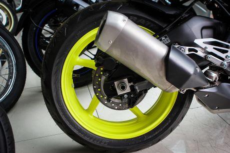 Moto Yamaha 1.000 phan khoi mau doc tai Ha Noi - Anh 10