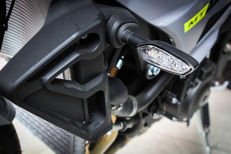 Moto Yamaha 1.000 phan khoi mau doc tai Ha Noi - Anh 8