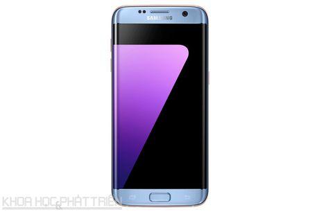 Can canh Galaxy S7 Edge mau xanh coral sap len ke o Viet Nam - Anh 18
