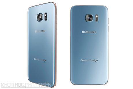 Can canh Galaxy S7 Edge mau xanh coral sap len ke o Viet Nam - Anh 20