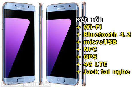 Can canh Galaxy S7 Edge mau xanh coral sap len ke o Viet Nam - Anh 4
