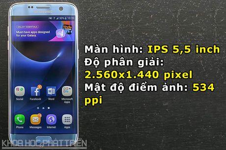 Can canh Galaxy S7 Edge mau xanh coral sap len ke o Viet Nam - Anh 5