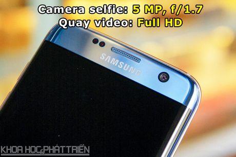 Can canh Galaxy S7 Edge mau xanh coral sap len ke o Viet Nam - Anh 7