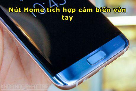 Can canh Galaxy S7 Edge mau xanh coral sap len ke o Viet Nam - Anh 8