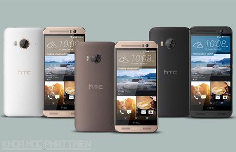 Smartphone man hinh 2K, camera 20 MP cua HTC giam gia hap dan - Anh 2