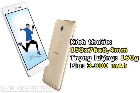 'Dap hop' smartphone chuyen chup anh, chip 10 nhan cua Sharp - Anh 3