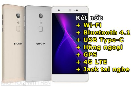 'Dap hop' smartphone chuyen chup anh, chip 10 nhan cua Sharp - Anh 4