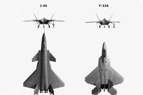 Truyen thong Trung Quoc tung ho tiem kich J-20 la sat thu diet F-22 My - Anh 3