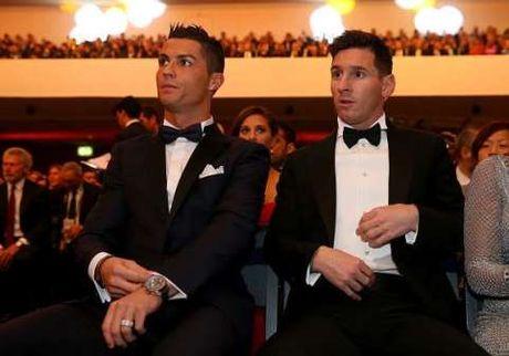 TIET LO: Messi da vuot Ronaldo de gianh Qua bong Vang 2016? - Anh 1