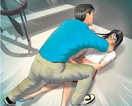 Be gai uong thuoc diet co tu tu sau khi co thai vi bi cuong hiep - Anh 1