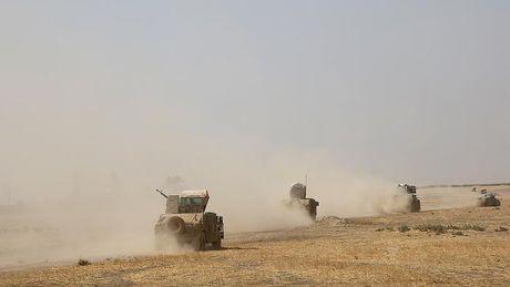 Syria: Lien quan Arab-nguoi Kurd chuan bi giai phong Raqqah - Anh 1