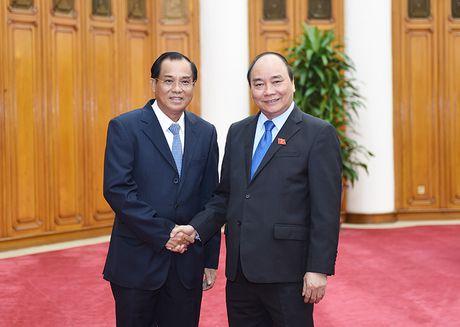Thuc day cac du an hop tac Viet Nam-Lao - Anh 1