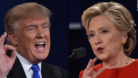 Bau cu My: Trump tung tiep la bai Trung Quoc de ha guc Clinton - Anh 1